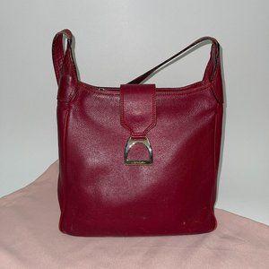 LANCEL VINTAGE leather hobo bag